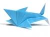 origami shark pattern b